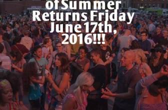 A Celebration of Summer 2016
