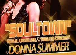 """SOULTOWN"" Mural Unveiling & Tribute Concert to Donna Summer"